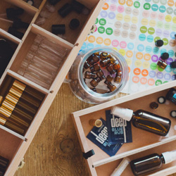 essential oils and accessories